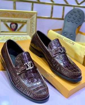 Lovely Men's Flat Shoes Louis Vuitton   Shoes for sale in Lagos State, Victoria Island