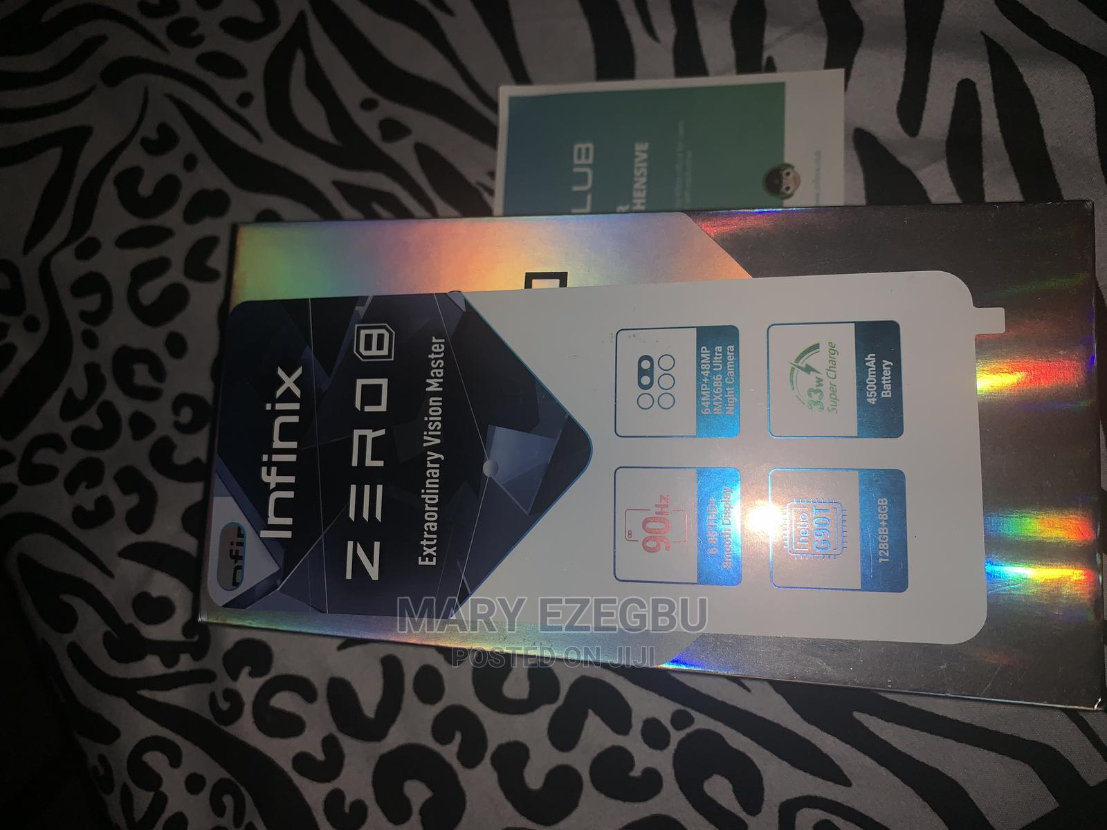 Infinix Zero 8 128 GB Black | Mobile Phones for sale in Ajah, Lagos State, Nigeria