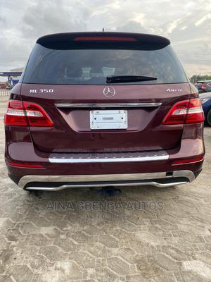 Mercedes-Benz M Class 2014 Burgandy   Cars for sale in Lagos State, Lagos Island (Eko)