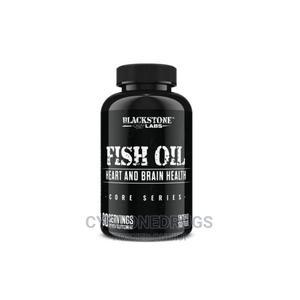 Blackstone Labs Fish Oil 90 Capsules Heart and Brain Health | Vitamins & Supplements for sale in Lagos State, Amuwo-Odofin