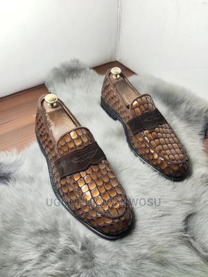 Crocodile Skin Loafers.   Shoes for sale in Rivers State, Port-Harcourt