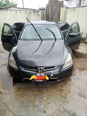 Honda Accord 2005 Sedan EX Automatic Gray | Cars for sale in Lagos State, Ikorodu