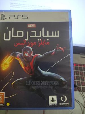 Spiderman Miles Morales PS5 (English)   Video Games for sale in Lagos State, Alimosho