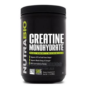Nutrabio 100% Pure Creatine Monohydrate Powder 500g /1.1lbs   Vitamins & Supplements for sale in Lagos State, Amuwo-Odofin