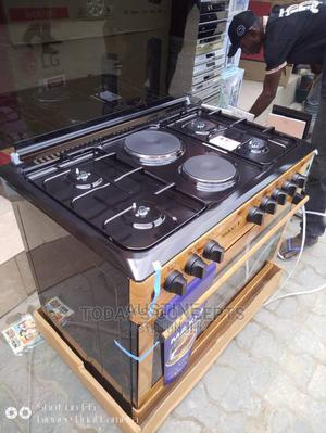 Brand New MAXI(60*90(4+2) Wooden, Standing Gas Cooker, | Kitchen Appliances for sale in Lagos State, Ojo