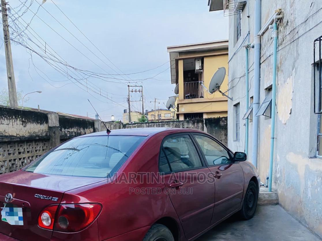 Toyota Corolla 2007 Red   Cars for sale in Yaba, Lagos State, Nigeria