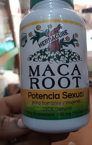 Herbacure MACA ROOT for Men and Women--500mg by 100 Capsules | Sexual Wellness for sale in Lagos State, Lagos Island (Eko)
