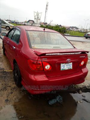 Toyota Corolla 2004 Red | Cars for sale in Delta State, Warri