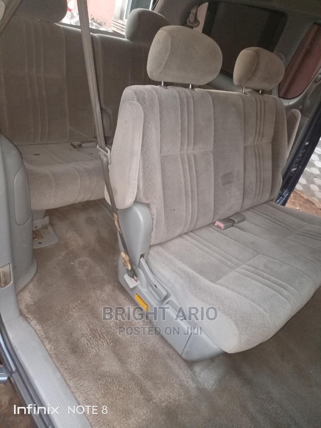 Toyota Sienna 2001 LE Blue | Cars for sale in Oshimili South, Delta State, Nigeria