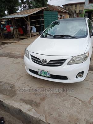 Toyota Corolla 2010 White | Cars for sale in Oyo State, Oyo