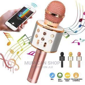 Bluetooth Karaoke Microphone: In-Built Speaker, Android Ios   Audio & Music Equipment for sale in Lagos State, Lekki