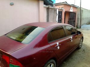 Honda Civic 2008 1.4i LS Red | Cars for sale in Abuja (FCT) State, Kubwa