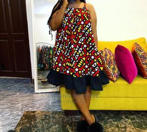 Ankara Short Dress | Clothing for sale in Lagos State, Ikeja