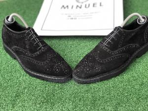 Black Suede Laced Shoe | Shoes for sale in Lagos State, Mushin