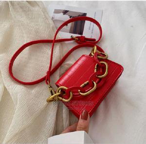 Retro Cute Snake Leather Handbag – Red | Bags for sale in Lagos State, Ipaja