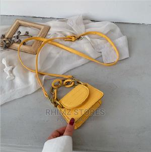 Retro Cute Snake Leather Handbag – Yellow | Bags for sale in Lagos State, Ipaja