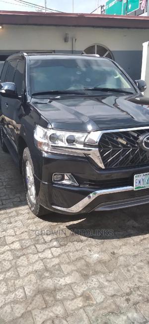 Toyota Land Cruiser 2013 4.5 V8 VXR Black   Cars for sale in Lagos State, Ikoyi