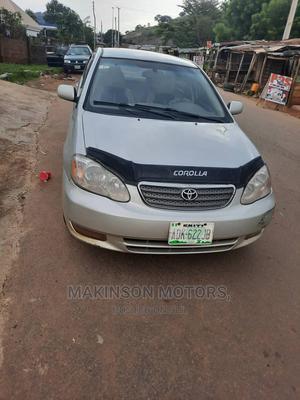 Toyota Corolla 2003 Sedan Automatic Silver | Cars for sale in Ekiti State, Ado Ekiti