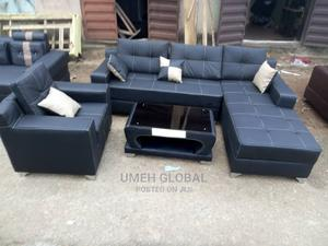 Quality L Shape With One Single and Center Table   Furniture for sale in Lagos State, Ikeja