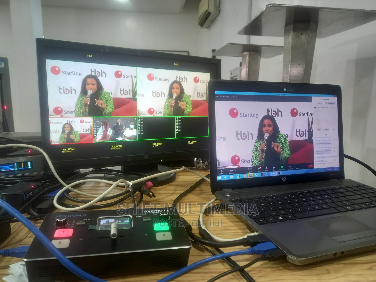 Event Live Streaming Services(Microsoft Team,Zoom) in Lagos