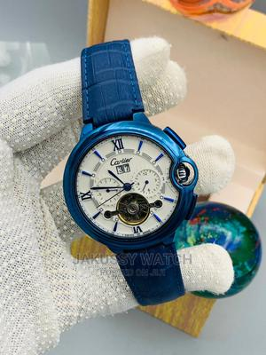 Cartier Original Genuine Leather Wrist Watch High Quality | Watches for sale in Lagos State, Lagos Island (Eko)