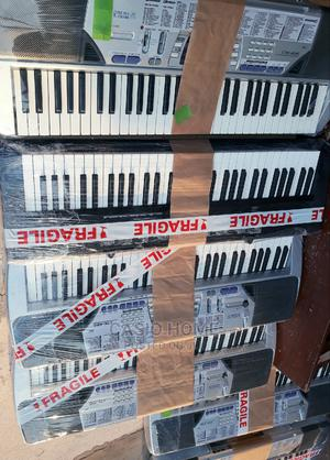 Neat Casio Ctk520l 5octave Keyboard Piano With Transpose   Musical Instruments & Gear for sale in Lagos State, Ipaja