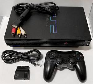 SONY Playstation 2 Original Black PS2 Gaming System | Video Games for sale in Ogun State, Ifo