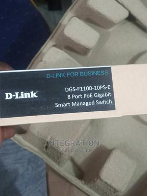 D-Link 8port Gig POE Switch + 2fiber Port Smart Switch | Networking Products for sale in Lagos State, Ikeja