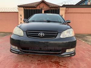 Toyota Corolla 2004 Black   Cars for sale in Lagos State, Ikorodu