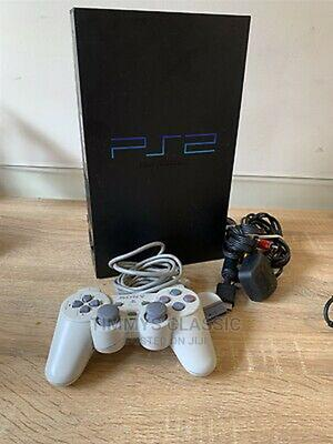 Sony Playstation 2 Black Console Ps2 With 10 Games | Video Games for sale in Lagos State, Ifako-Ijaiye