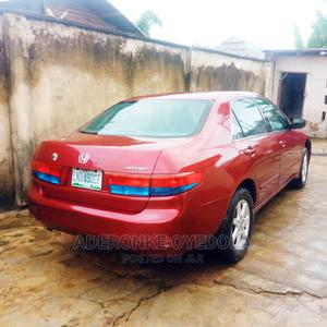 Honda Accord 2003 Automatic Red   Cars for sale in Ogun State, Abeokuta South