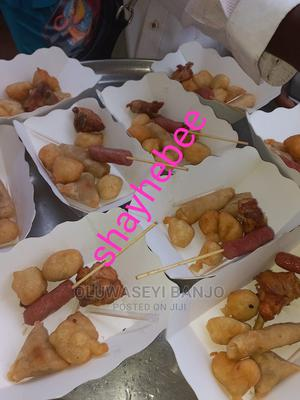 Disposable Paper Plates for Chops, Small Chops   Party, Catering & Event Services for sale in Lagos State, Yaba