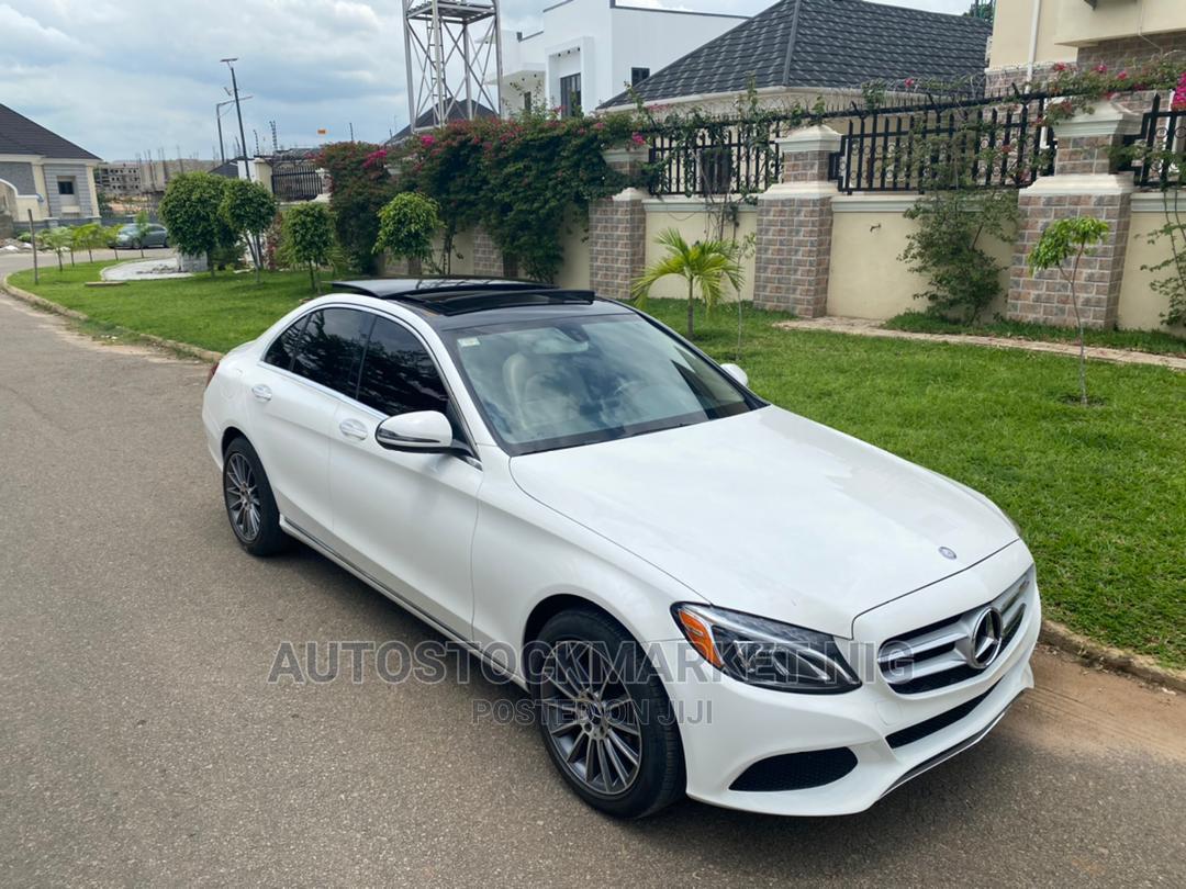 Mercedes-Benz C400 2018 White