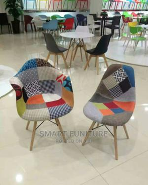 Classic Wooden Leg Fibre Chair   Furniture for sale in Lagos State, Victoria Island