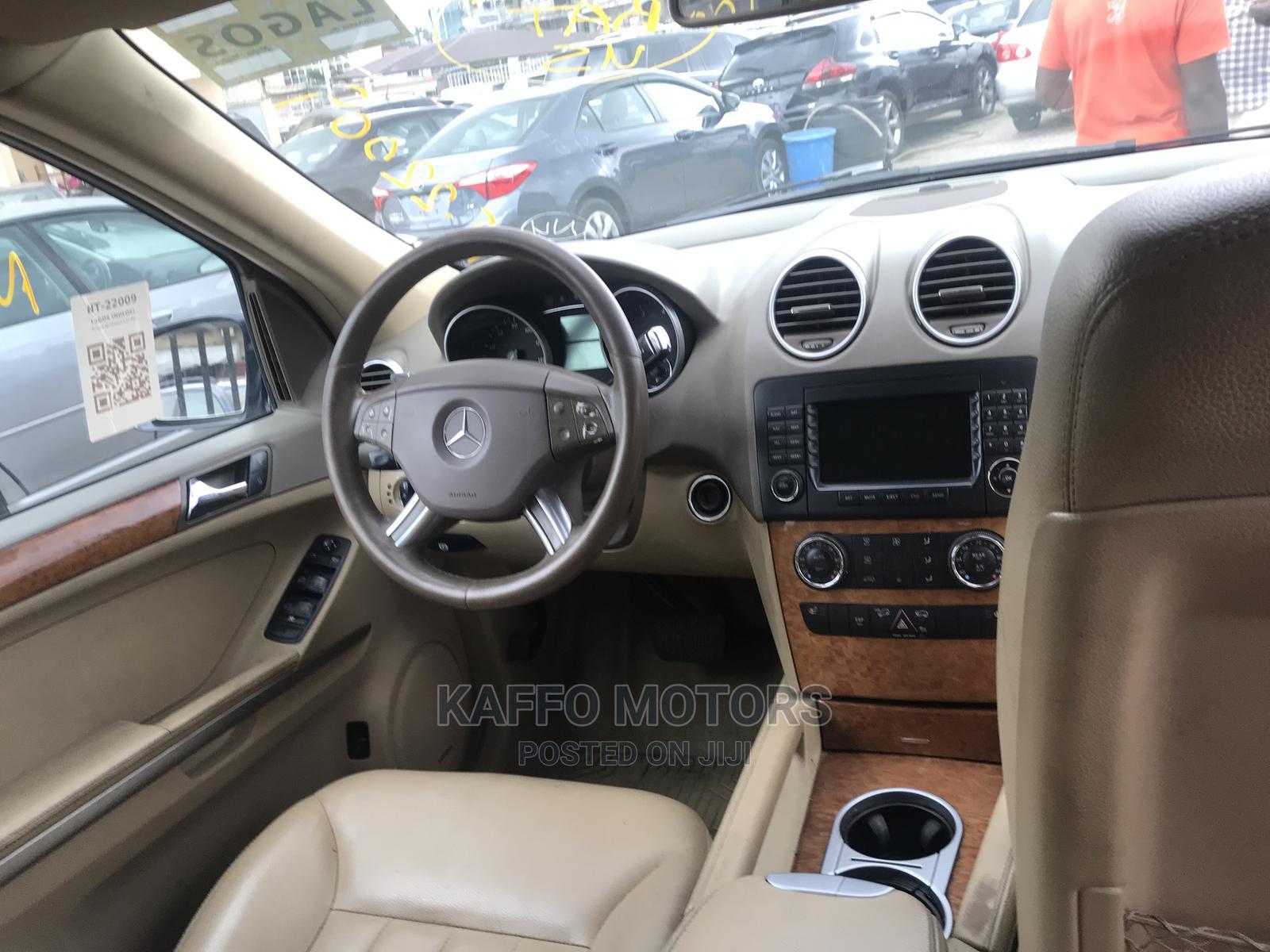 Mercedes-Benz M Class 2007 ML 350 4Matic Blue   Cars for sale in Ikeja, Lagos State, Nigeria