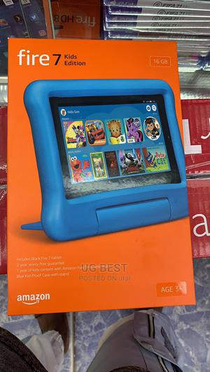 New Amazon Fire HD 10 16 GB Black   Tablets for sale in Lagos State, Ikeja