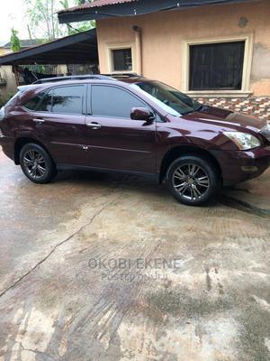 Lexus RX 2009 350 4x4 Burgandy   Cars for sale in Edo State, Benin City