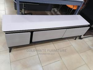 Unique Television Stand With Iced Glass Top | Furniture for sale in Abuja (FCT) State, Central Business District