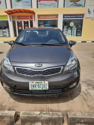 Kia Rio 2015 Gray | Cars for sale in Abuja (FCT) State, Central Business District