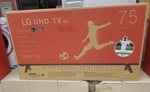 Brand New Lg 75 Inches Smart 4K Television | TV & DVD Equipment for sale in Lagos State, Gbagada