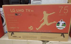 Original Lg 75 Inches Smart 4K Television | TV & DVD Equipment for sale in Lagos State, Abule Egba