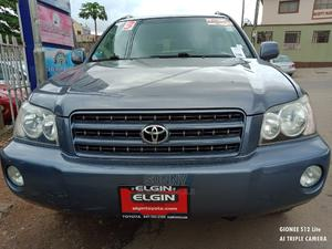 Toyota Highlander 2003 Gray   Cars for sale in Lagos State, Ikeja