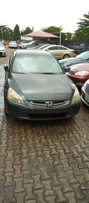 Honda Accord 2005 Sedan EX Automatic Gray | Cars for sale in Lagos State, Ikeja