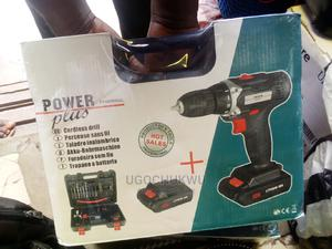 Power Plus Cordless Drill | Manufacturing Equipment for sale in Lagos State, Yaba
