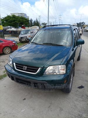 Honda CR-V 2001 2.0 Automatic Green | Cars for sale in Lagos State, Ajah