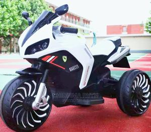 Big Ferrari Rechargeable Kids Motorcycle WHITE | Toys for sale in Lagos State, Ikeja