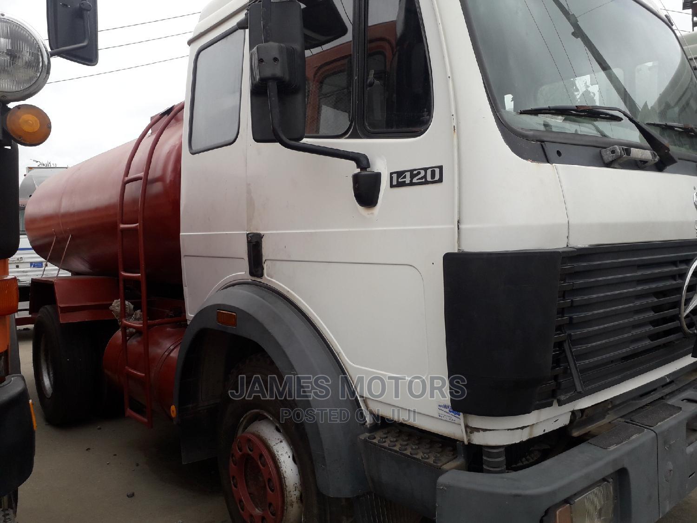Mercedes Benz 1420 1999 White | Trucks & Trailers for sale in Apapa, Lagos State, Nigeria