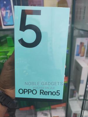 New Oppo Reno5 4G 128 GB Black   Mobile Phones for sale in Lagos State, Ikeja