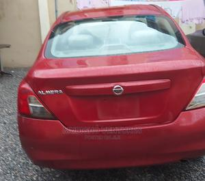 Nissan Almera 2013 Red   Cars for sale in Lagos State, Ojodu