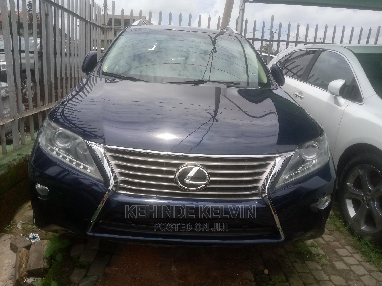 Lexus RX 2015 Blue | Cars for sale in Ojodu, Lagos State, Nigeria